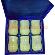 Набор стаканов 13 см (3,5х5) из оникса в бархатной коробочке