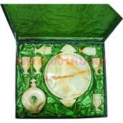 Набор посуды из цельного камня в подарочной упаковке