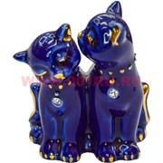Котики со стразами, пара (NS-168E) фарфор