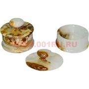 Шкатулка из оникса с крышкой 5,3 см