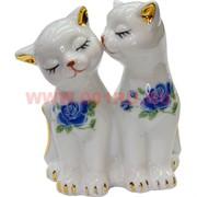 Котики из фарфора, пара (NS-168F) 10 см