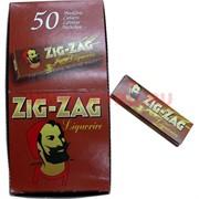 "Бумага для самокруток Zig Zag ""Liquorice"", 50 шт/уп"