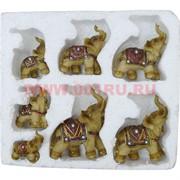 7 слонов в пенопласте из полистоуна, 24 набора/кор