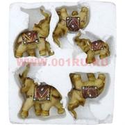 5 слонов в пенопласте из полистоуна, 24 шт/кор