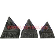 Пирамиды металлические (под мельхиор) 48 наборов/кор