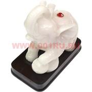 Статуэтка Слон белая 12 см