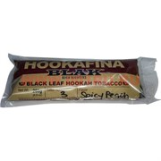 "Табак для кальяна Hookafina Blak 250 гр ""Spicy Peach"" (USA) Black Leaf Hookah Tobacco"