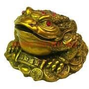 Денежная жаба со стразами малая