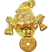Жабка с монетой 3,5 см