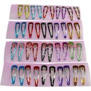 Заколка для волос (A-986) разных цветов 5 видов, цена за 120  шт