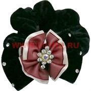 Резинка для волос с цветком, цена за 20 шт