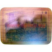 Доска разделочная бамбуковая 21х29 см, рисунки в ассортименте