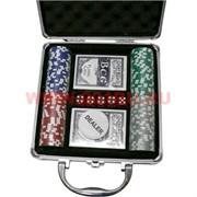 Набор для покера 100 фишек (11,5 гр) в кейсе
