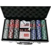 Набор для покера 300 фишек (14 гр) в кейсе