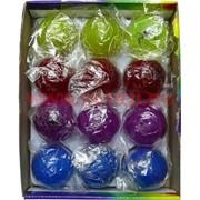 Светящиеся мячики из резины, цена за упак 12 шт (светятся от удара)