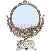 """Зеркало """"Круг"""" под бронзу (0865-8) 28 см"""