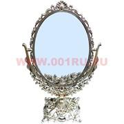 """Зеркало """"Овал"""" под бронзу (0863-9) 37 см"""