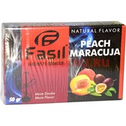 Табак для кальяна Fasil «Peach Maracuja» 50 гр (фасиль персик маракуйя)