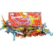 Брелок (KL-660) животные дельфины динозавры резиновые, цена за 120 шт (2400 шт/кор)