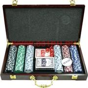Набор для покера на 300 фишек (F-1214)