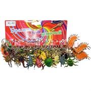 Брелок (KL-617) жуки сороконожки, цена за 120 шт (2400 шт/кор)