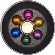 Спиннер алюминиевый цветной 6 шариков
