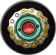 Спиннер металлический «велосипедная цепь» 67 мм диаметр