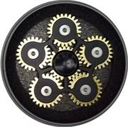 Спиннер металлический «шестеренки» 70 мм диаметр