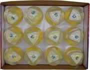 Игрушка мяч с водой «торт» 65 мм цена за 12 шт