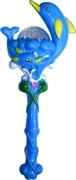 Игрушка светящаяся «дельфин» с крутящимся шариком