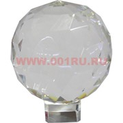 Шар стеклянный граненый 10-11 см (без подставки) XH28-9