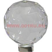Шар стеклянный граненый 12-13 см (без подставки)