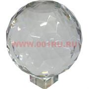 Шар стеклянный граненый 15 см (без подставки)