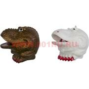 """Лизун """"голова динозавра"""" с кровью внутри"""