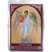Православный амулет Иконка (Спаси и сохрани) в бумажник цена за 100 шт