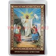 Православный амулет Иконка Воскресение Христово в бумажник цена за 100 шт