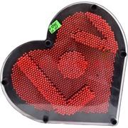 3-D трафарет пинарт (KL-1291) сердце скульптор 36 шт/кор