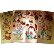Денежный конверт золотой 6-в-1 (упаковка из 6 шт)
