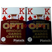"""Карты для покера """"Opti"""", цена за две упаковки"""
