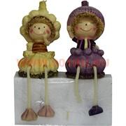 Фигурки с ножками (KL-316) мальчик и девочка Чеснок цена за пару (24 шт/кор)