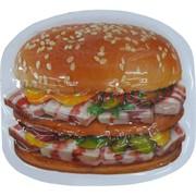 """Прикол магнит оптом """"Гамбургер"""""""