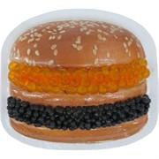 "Прикол магнит оптом ""Гамбургер с икрой"""