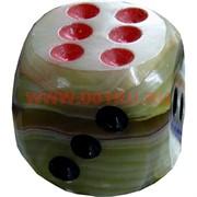 Кубик игральный из оникса 0,75 дюйма 2 размер
