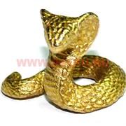 Змея-мини символ 2013 года из бронзы 1,5 см