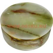 Шкатулка из оникса круглая 13 см (5 дюймов)