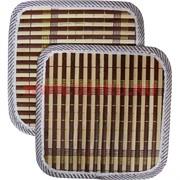 Циновка из бамбука малая 17,5х17,5 см, цена за пару