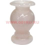 Ваза из розового оникса 12 см (3х5)