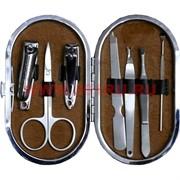 Набор маникюрный Paston (S233) овальный 7 предметов в коже