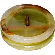 Подсвечник из оникса 3,5х7 см