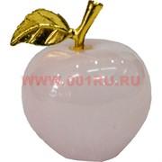 Яблоко из розового оникса 1,5 дюйма 6 шт/уп
